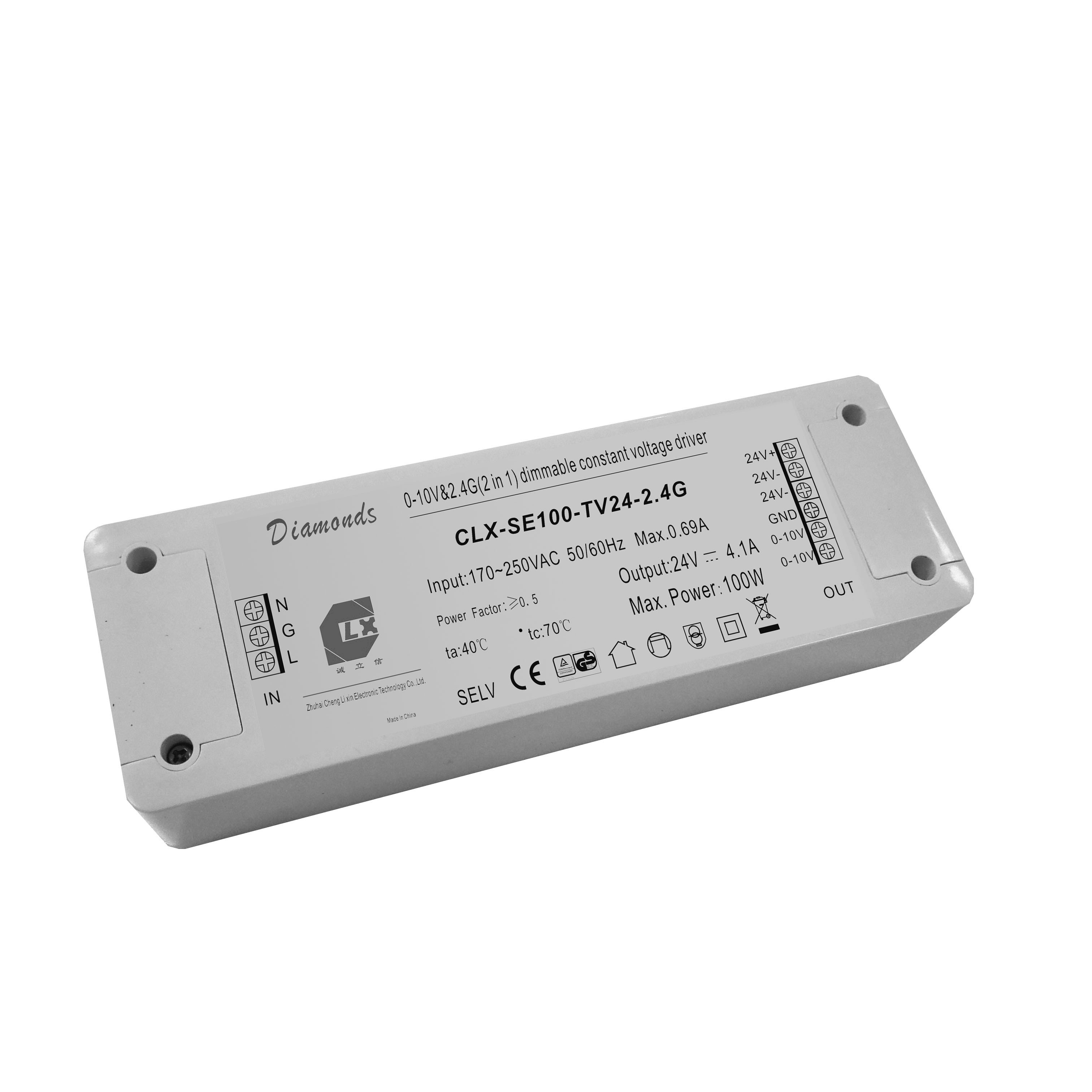24v Constant Voltage Dimmable Led Driver Current Drives Two 3 Watt Ledselectronics Project Circuts 100w Dimmer For